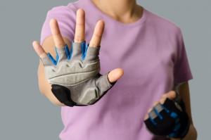 Fahrradhandschuhe: Modell eines Kurzfinger-Handschuhs