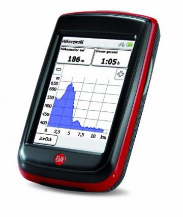 Fahrradnavigationsgerät Falk IBEX 32, 3 Zoll Touchscreen, Premium Outdoor-Karte und Basiskarte Plus (EU 25) zum Tourenradfahren, Wandern und Geocaching - 3