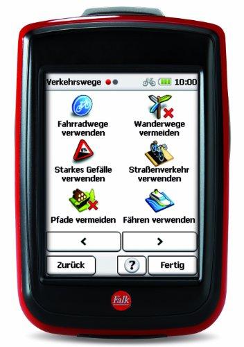 Fahrradnavigationsgerät Falk IBEX 32, 3 Zoll Touchscreen, Premium Outdoor-Karte und Basiskarte Plus (EU 25) zum Tourenradfahren, Wandern und Geocaching - 4