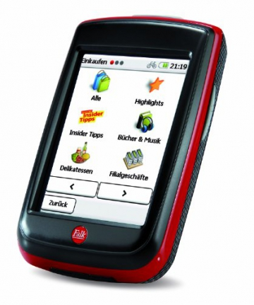 Fahrradnavigationsgerät Falk IBEX 32, 3 Zoll Touchscreen, Premium Outdoor-Karte und Basiskarte Plus (EU 25) zum Tourenradfahren, Wandern und Geocaching - 5