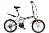 Faltrad Klapprad 20' Zoll Alu Fahrrad gefedert 6 Gang SHIMANO Aluminium Rahmen -