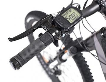 Fitifito MT 27,5 Zoll Elektrofahrrad Mountainbike E-Bike Pedelec, 36V 13Ah 468Wh LG Cells Lithium-Ionen USB , 36V 250W Heckmotor, 21 Gang Shimano Schaltung, Mechanische Scheibenbremse - 2