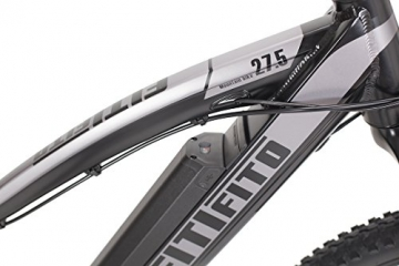 Fitifito MT 27,5 Zoll Elektrofahrrad Mountainbike E-Bike Pedelec, 36V 13Ah 468Wh LG Cells Lithium-Ionen USB , 36V 250W Heckmotor, 21 Gang Shimano Schaltung, Mechanische Scheibenbremse - 3