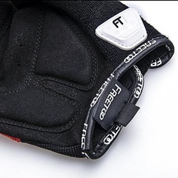 FREETOO Fahrradhandschuhe Radsporthandschuhe Vollfinger Mountainbike Handschuhe für Herren und Damen - Ideal gloves für Road Race, Radsport, Reiten, Wandern, Bergsteigen, Camping und mehr Sports im Freien - 8