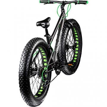 Galano 26 Zoll Fatbike Fatman Mountainbike MTB Hardtail 4.0 fette Reifen Fahrrad (Grau) - 3