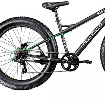Galano 26 Zoll Fatbike Fatman Mountainbike MTB Hardtail 4.0 fette Reifen Fahrrad (Grau) - 4