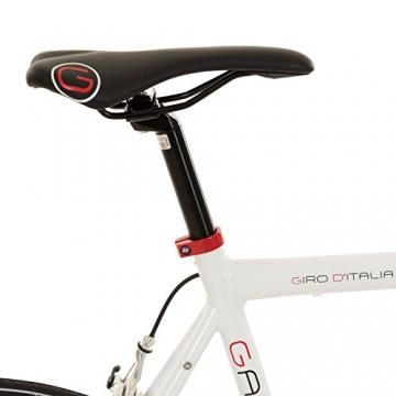 Galano 28 Zoll Rennrad Giro D'Italia 3 Rahmengrößen 2 Farben, Farbe:Weiss, Rahmengrösse:53 cm - 4