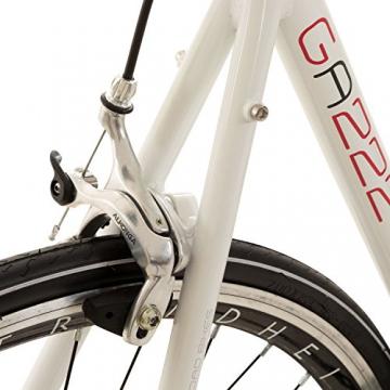 Galano 28 Zoll Rennrad Giro D'Italia 3 Rahmengrößen 2 Farben, Farbe:Weiss, Rahmengrösse:53 cm - 5