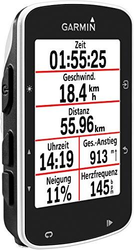 Garmin Edge 520 - GPS-Fahrradcomputer für ambitionierte Rennfahrer mit 2,3 Zoll (5,8 cm) Farbdisplay und Strava Live Segmenten - 2
