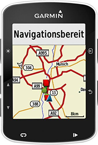 Garmin Edge 520 - GPS-Fahrradcomputer für ambitionierte Rennfahrer mit 2,3 Zoll (5,8 cm) Farbdisplay und Strava Live Segmenten - 13