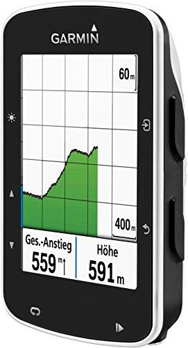 Garmin Edge 520 - GPS-Fahrradcomputer für ambitionierte Rennfahrer mit 2,3 Zoll (5,8 cm) Farbdisplay und Strava Live Segmenten - 3