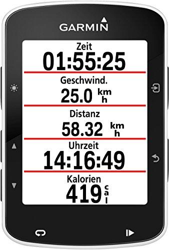 Garmin Edge 520 - GPS-Fahrradcomputer für ambitionierte Rennfahrer mit 2,3 Zoll (5,8 cm) Farbdisplay und Strava Live Segmenten - 4