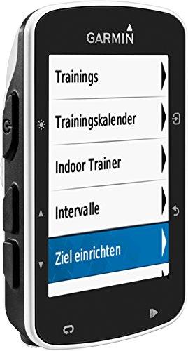 Garmin Edge 520 - GPS-Fahrradcomputer für ambitionierte Rennfahrer mit 2,3 Zoll (5,8 cm) Farbdisplay und Strava Live Segmenten - 10