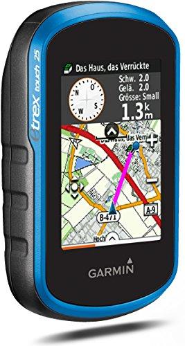Garmin eTrex Touch 25 Fahrrad-Outdoor-Navigationsgerät, TopoActive Karte, GPS und GLONASS, 2,6 Zoll (6,6 cm) kapazitiver Farb-Touchdisplay - 2
