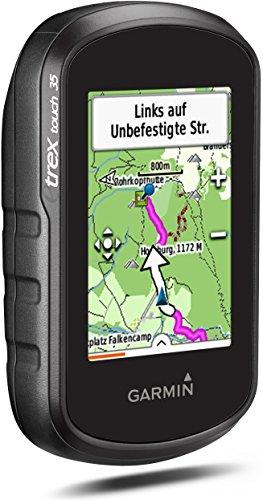 Garmin eTrex Touch 35 Fahrrad-Outdoor-Navigationsgerät - mit vorinstallierter Garmin Topoactive Karte, Smart Notifications und barometrischem Höhenmesser, 010-01325-11 - 2