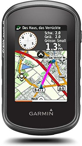Garmin eTrex Touch 35 Fahrrad-Outdoor-Navigationsgerät - mit vorinstallierter Garmin Topoactive Karte, Smart Notifications und barometrischem Höhenmesser, 010-01325-11 - 1