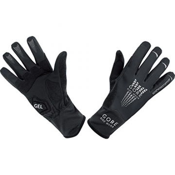 GORE BIKE Wear Herren Rennradhandschuhe, GORE WINDSTOPPER, XENON 2.0 WS Gloves, Größe 7, Schwarz, GWXENE - 1