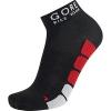 GORE BIKE WEAR Rennrad-Socken, GORE Selected Fabrics, POWER Socks, Größe 44-46, Schwarz/Rot, FEPOWM - 1
