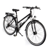 Gregster Damen Aluminium City-Bike Fahrrad StVZO, Schwarz, 28 Zoll, GR-6671 -