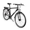 Gregster Herren Aluminium City-Bike Fahrrad StVZO, Schwarz, 28 Zoll, GR-6664 -