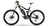 Haibike XDURO AllMtn RX schwarz/weiß/lime matt 2015 E-Bike - 1
