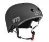 Hudora Kinder Skateboarder Helm, schwarz, Gr. 55-58 - 1