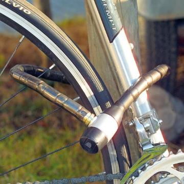 infactory Stahl-Fahrradschloss - 2