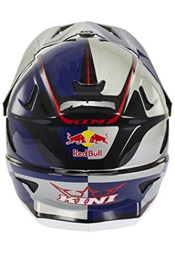 Kini Red Bull Downhill-MTB Helm MTB Silber Gr. M - 2