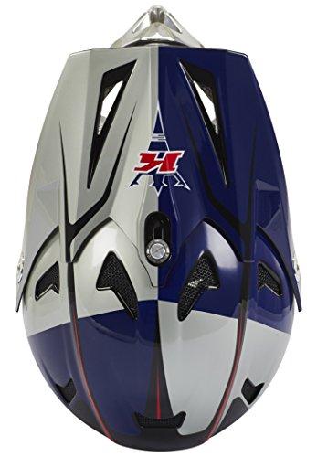 Kini Red Bull Downhill-MTB Helm MTB Silber Gr. M - 3