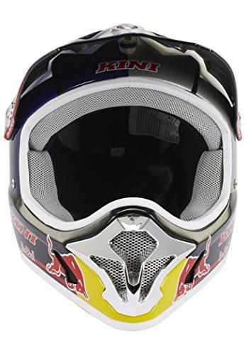 Kini Red Bull Downhill-MTB Helm MTB Silber Gr. M - 4