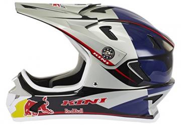 Kini Red Bull Downhill-MTB Helm MTB Silber Gr. M - 5