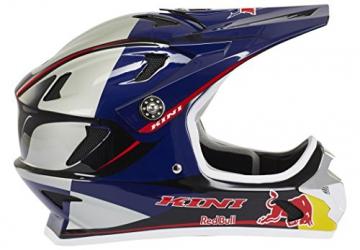 Kini Red Bull Downhill-MTB Helm MTB Silber Gr. M - 6