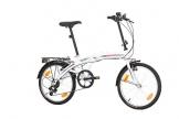 Klapprad Fahrrad Probike FOLDING 20 Zoll Shimano 6 GANG, STVO Beleuchtung, Komplett montiert -