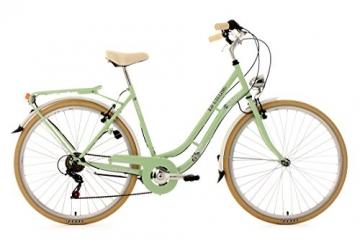 KS Cycling Damen Fahrrad Cityrad Casino 6 Gänge, Grün, 28 Zoll, 700C - 1