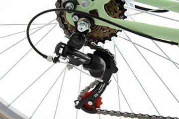 KS Cycling Damen Fahrrad Cityrad Casino 6 Gänge, Grün, 28 Zoll, 700C - 3