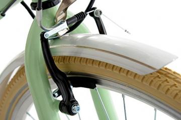 KS Cycling Damen Fahrrad Cityrad Casino 6 Gänge, Grün, 28 Zoll, 700C - 8