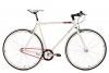 KS Cycling Fahrrad Fitness-Bike Single Speed Essence RH 59 cm, Weiß, 28, 392B - 1