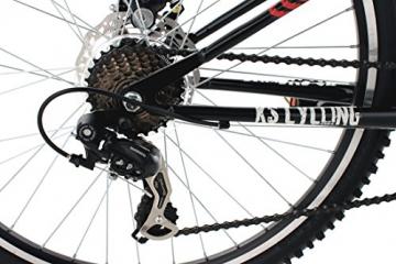 KS Cycling Fahrrad Mountainbike Dirt Dirrt, Schwarz, 26, 113B - 3