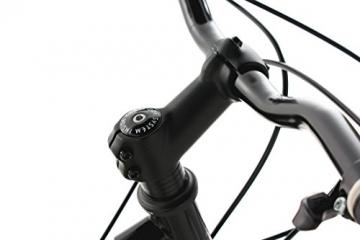 KS Cycling Fahrrad Mountainbike Dirt Dirrt, Schwarz, 26, 113B - 4