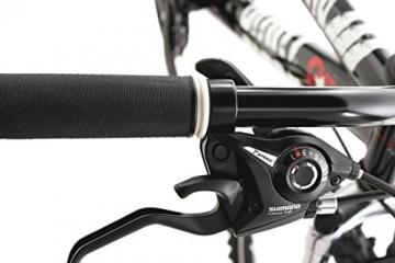 KS Cycling Fahrrad Mountainbike Dirt Dirrt, Schwarz, 26, 113B - 6