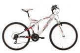 KS Cycling Fahrrad Mountainbike MTB Fully Zodiac, Weiß, 26 Zoll, 320M - 1
