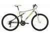 KS Cycling Mountainbike Fully Slyder RH 51 cm Fahrrad, Weiß-Grün, 26 -