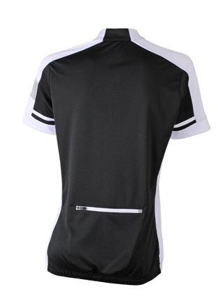 Ladies' Bike-T Full Zip Black,XL -