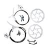 Lixada Hydraulisches Fahrrad Vorder / Hinter Scheibe Bremsensatz MTB Mountainbike Oil Disc Bremse Rotor Hebel - 1