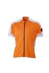 Men's Bike-T Full Zip | orange |S S,Orange - 1