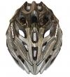 Moon Mountainbike- / Straße- /Radsportsspezifischer Radfahrhelm 27 Luftlöcher Leichtgewichtige Helme für Erwachsene CE EN1078 Abnahmezeugnisse PC+EPS wählweise Blau Weiß Schwarz Gold - 1