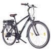 NCM Hamburg 2016,28 Zoll Elektrofahrrad Herren/Damen Unisex Pedelec,E-Bike,Trekking Rad, 36V 250W 14Ah Lithium-Ionen-Akku mit PANASONIC Zellen, matt schwarz -