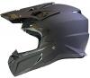OffRoad MOTOCROSS Motorrad HELM Cross Enduro Quad MX MTB ECE22-05 - Matt-schwarz - XL (61-62cm) - 1