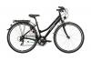 Ortler Lindau Damen schwarz glanz Rahmengröße 43 cm 2016 Trekkingrad -