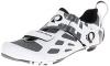 Pearl Izumi | TRI FLY V CARBON Triathlonschuhe Herren | weiß-schwarz, Schwarz/Weiß, 45 EU - 1